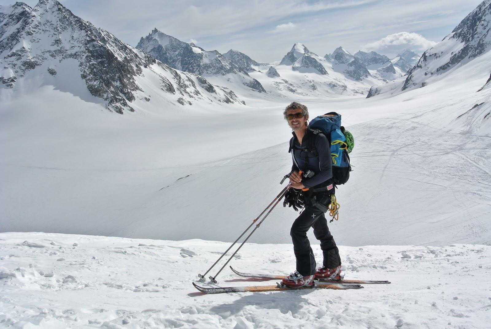 El track: l'Alta Ruta Chamonix-Zermatt