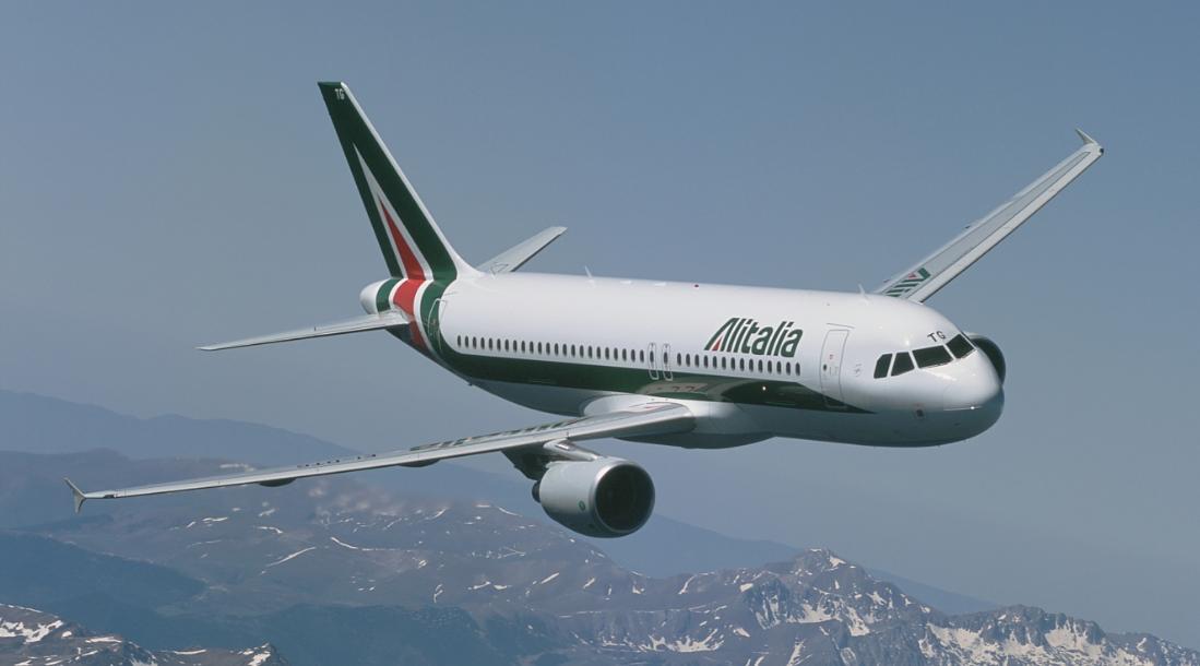 Columna Farinelli: les pegues d'Alitalia