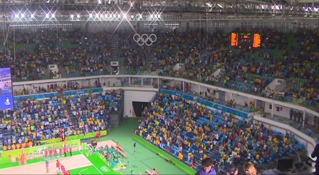 Passió pel bàsquet al Carioca Arena