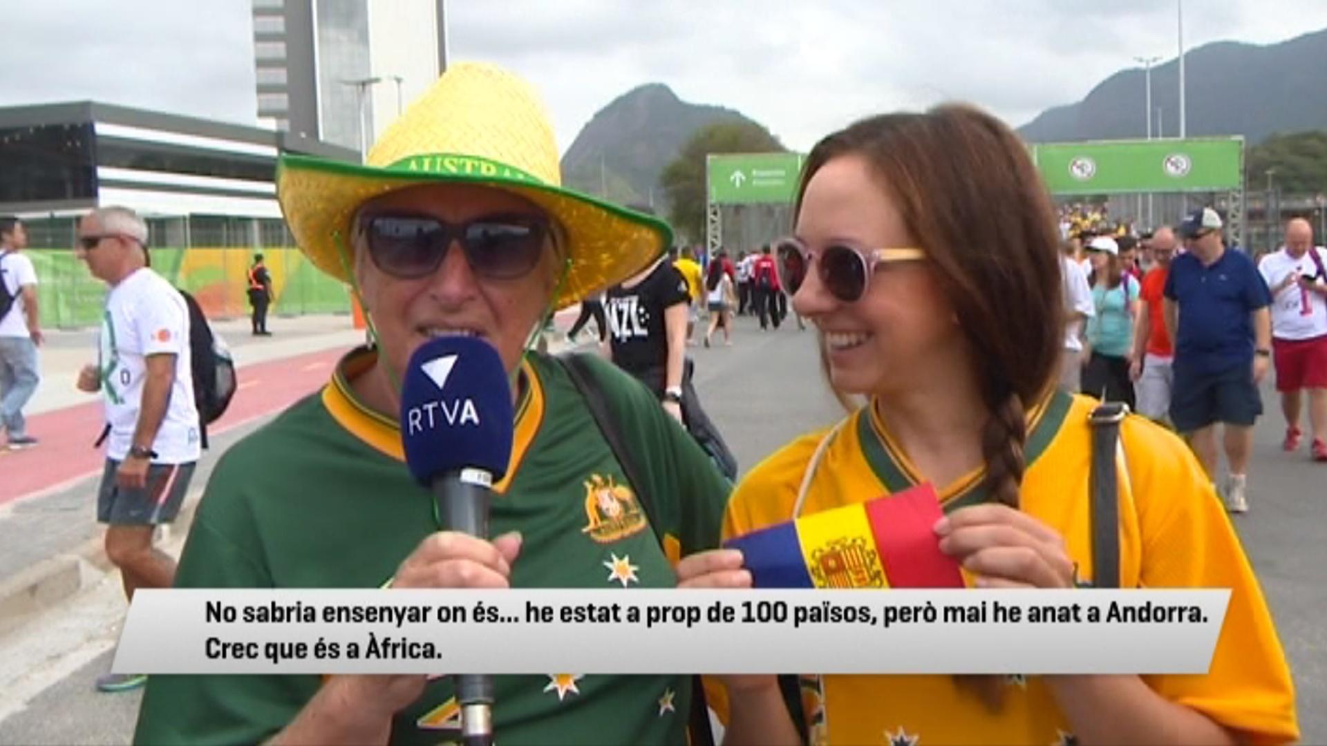 Què saben d'Andorra als Jocs de Rio?