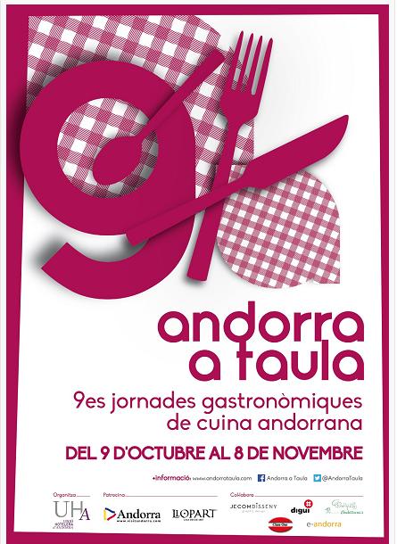 Recta final de l'Andorra a taula