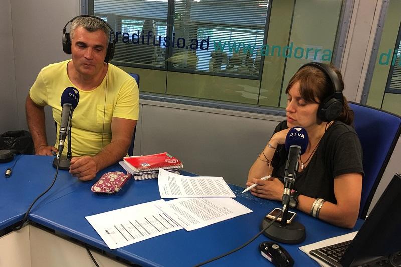 Tertúlia amb Josep Mas i Alfons Calavera 22 de juny del 2018