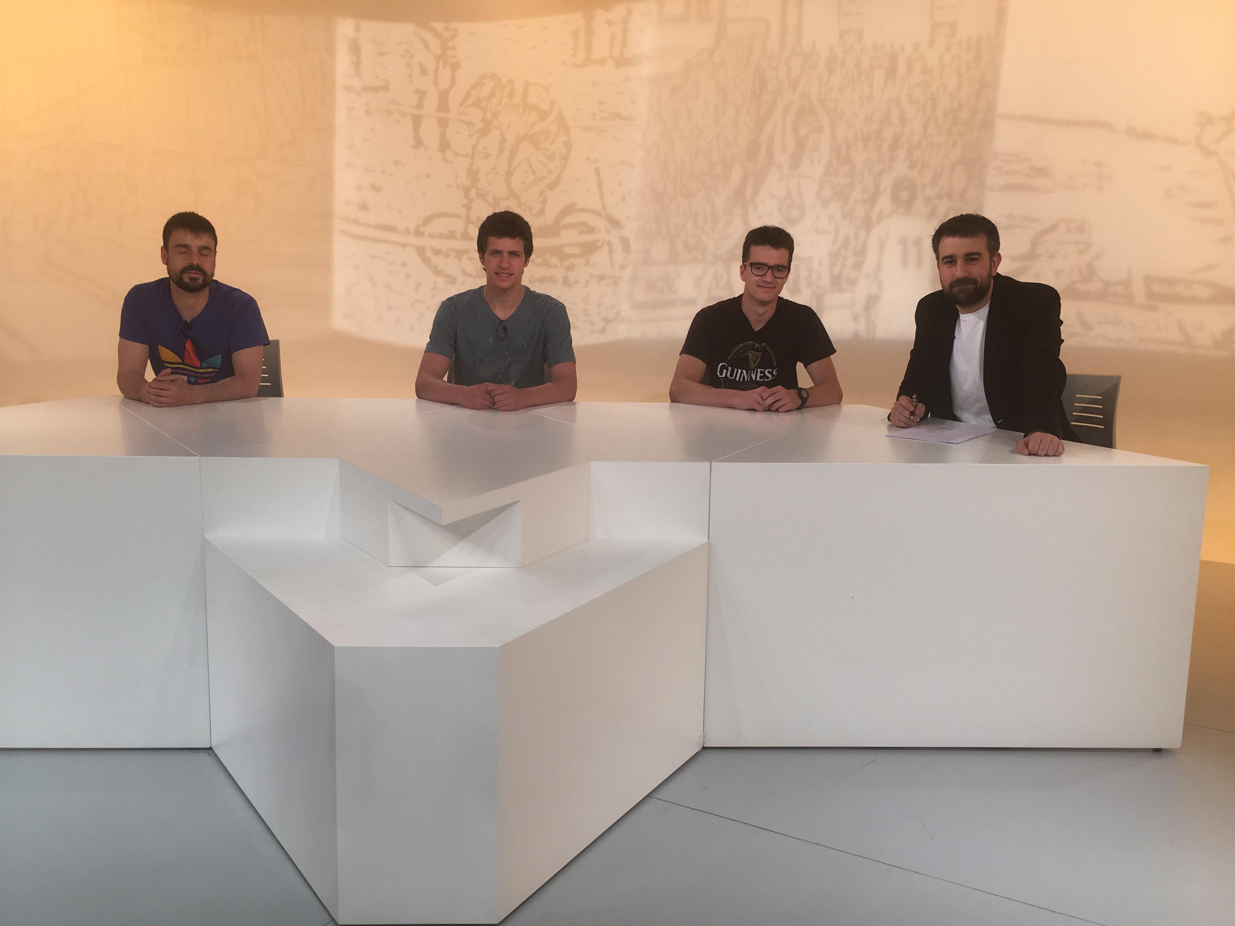 Dia E - 2ªPart  Entrevista als jugadors de l'Andorra Hoquei Club