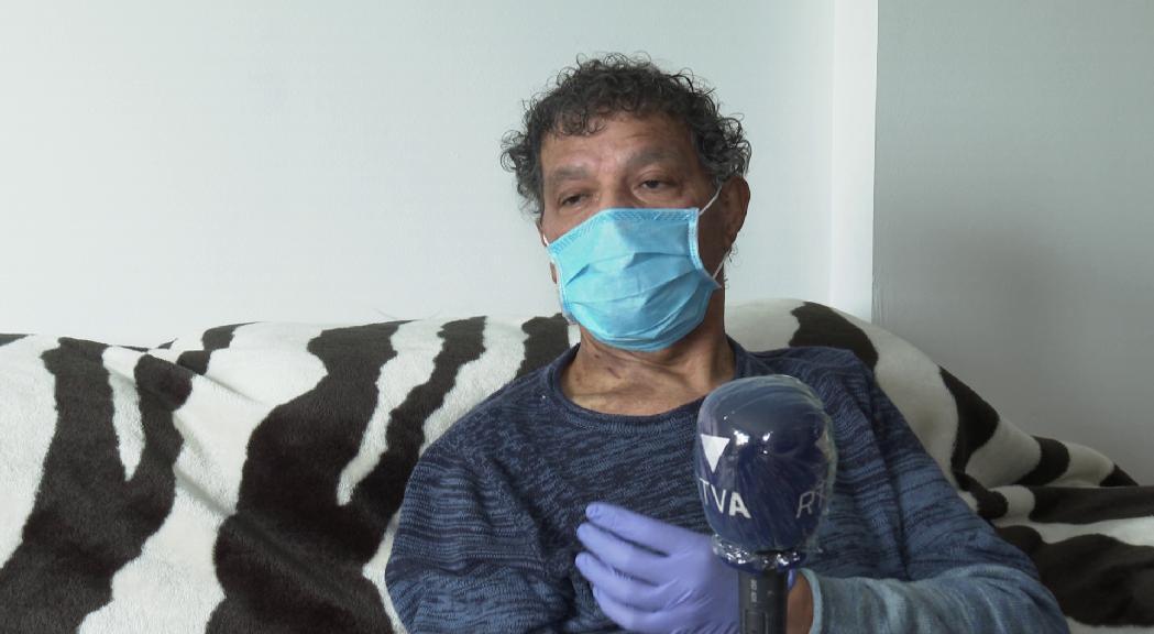 Jorge Carvalho, mes i mig a l'hospital per la Covid-19