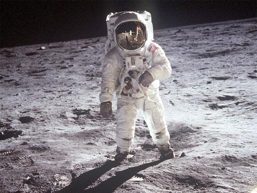 Els astronautes van escalfar la Lluna