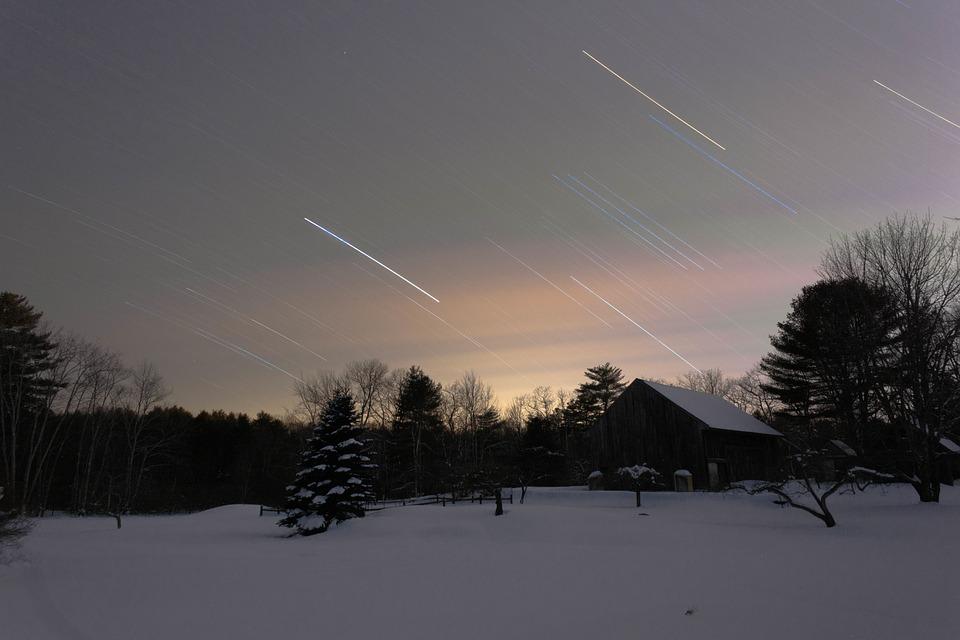 Meteors, cometes i estels