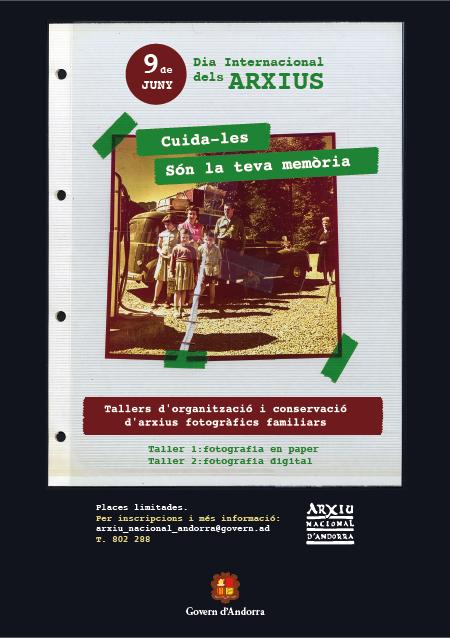 Demà, Dia internacional dels Arxius