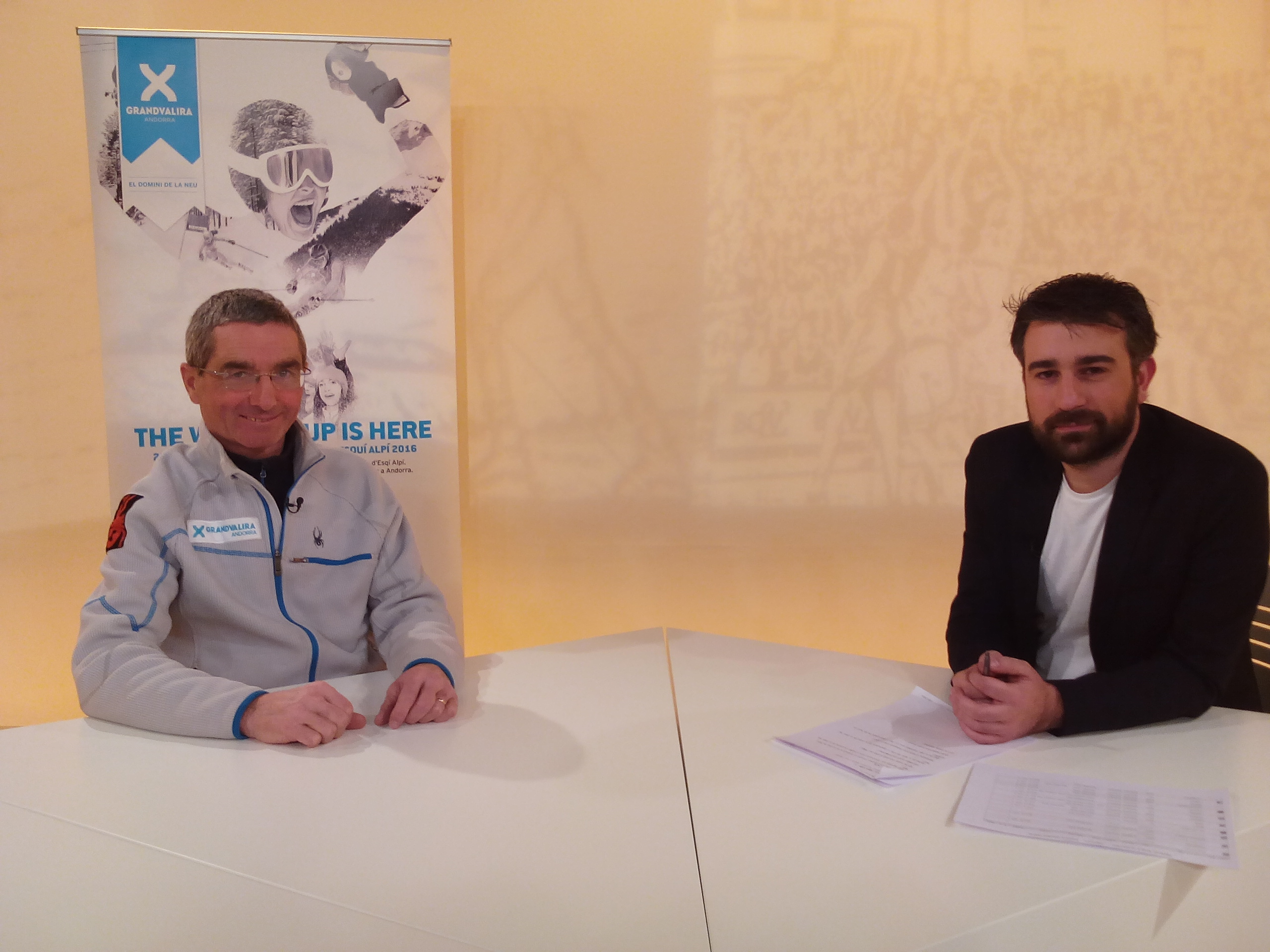 Dia E 1a part - Entrevista amb el director d'operacions de la Copa del Món Enric Barbier
