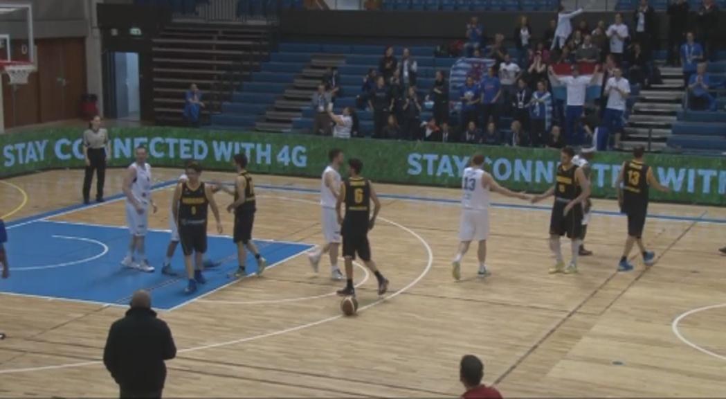 La selecció de bàsquet cau amb Luxemburg i acaba quarta (93-79).
