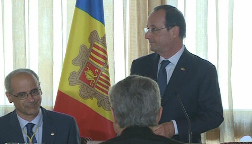 Especial visita François Hollande 6a hora