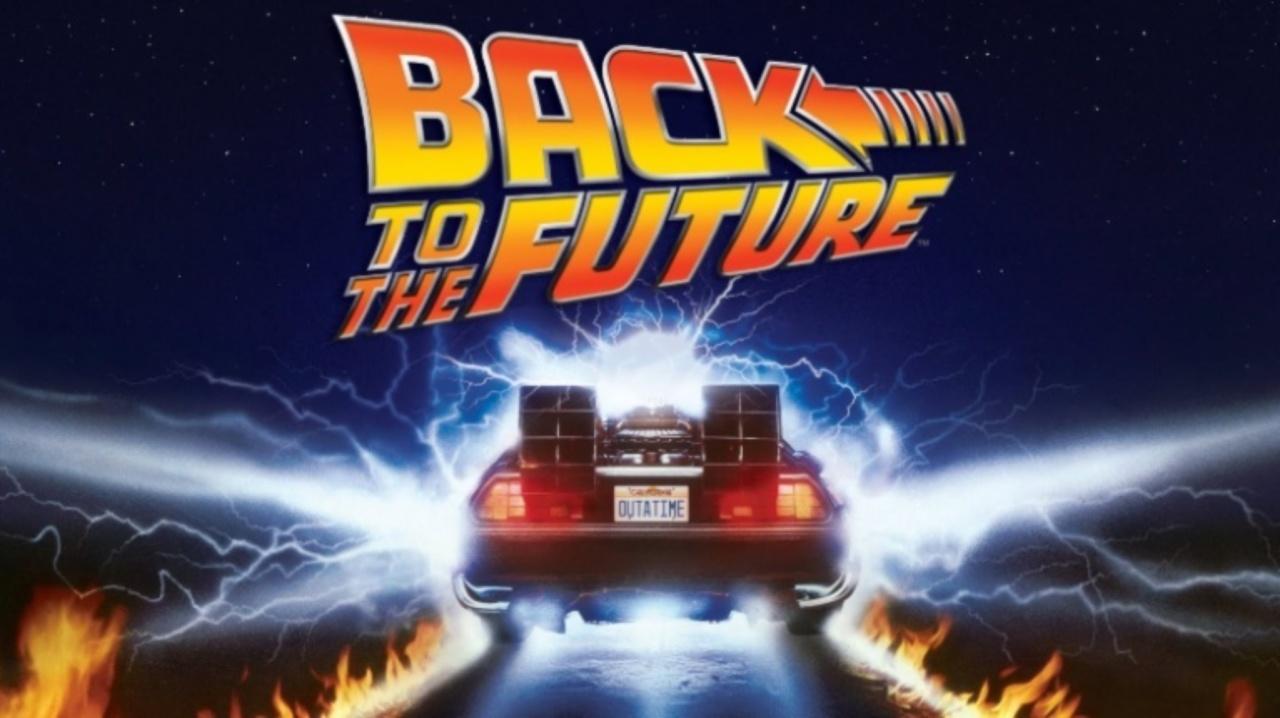 Marty McFly, Doc Brown i un DeLorean