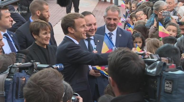 Especial ATV - Macron arriba a Andorra i visita Canillo i Encamp