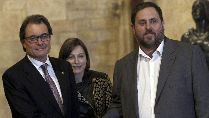 Acords polítics a Catalunya per avançar les eleccions
