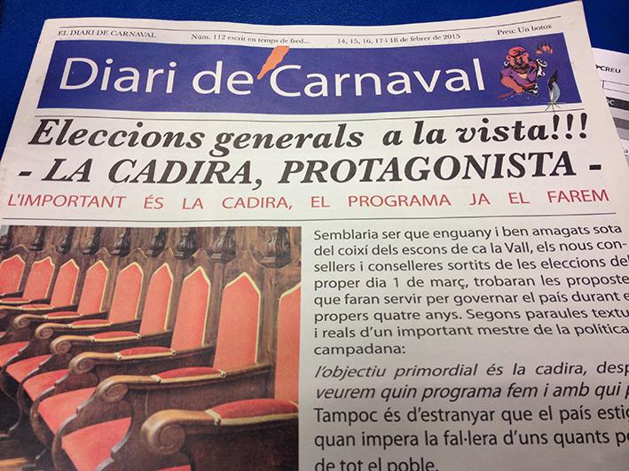 El carnaval d'Encamp escalfa motors