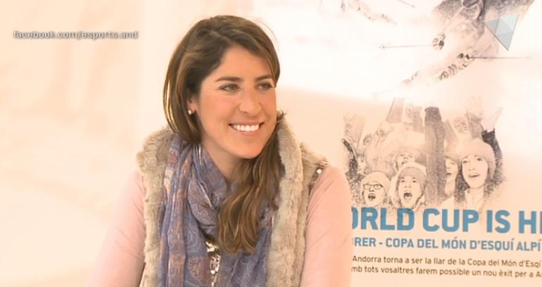 Dia E 1a part- Carles Visa i l'ex esquiadora Carolina Ruiz auguren un gran espectacle per la Copa del Món