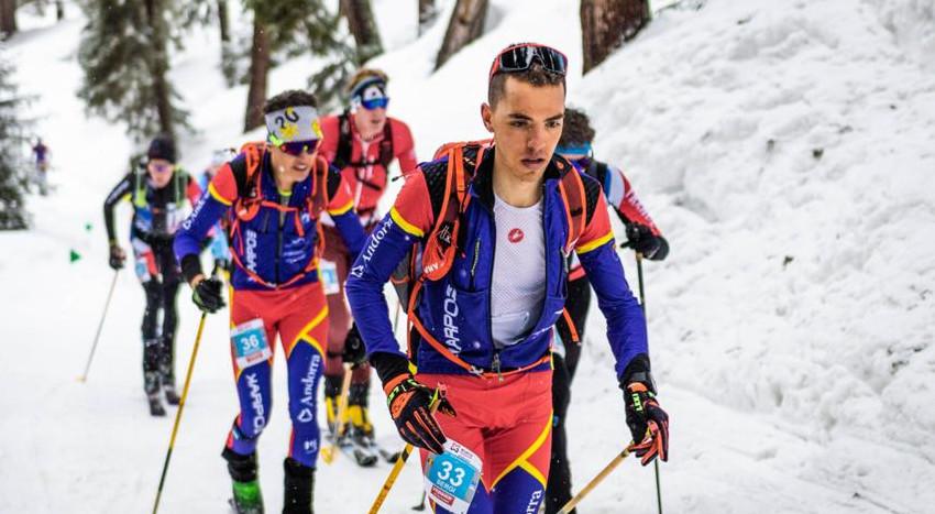 Andorra en blanc 5 de febrer del 2021