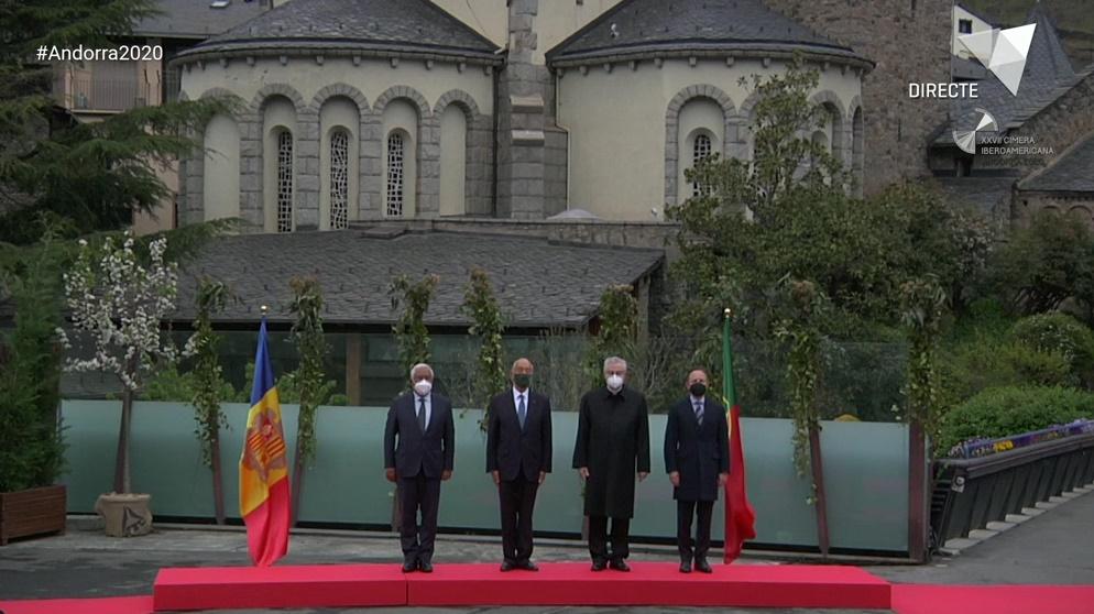 Rebuda dels caps d'Estat i de Govern presents en la XXVII Cimera Iberoamericana