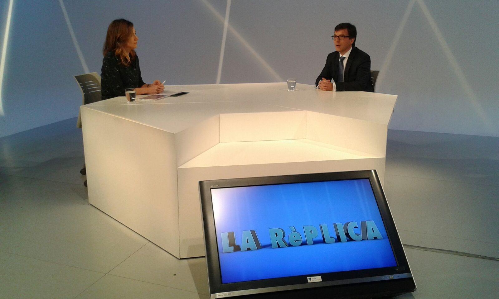 Entrevista al ministre Jordi Cinca