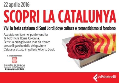 Columna Farinelli: Sant Jordi i la projecció de Catalunya
