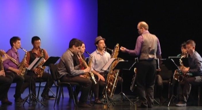 Concert Ensemble de saxophones de Versailles Sax Fest 2015