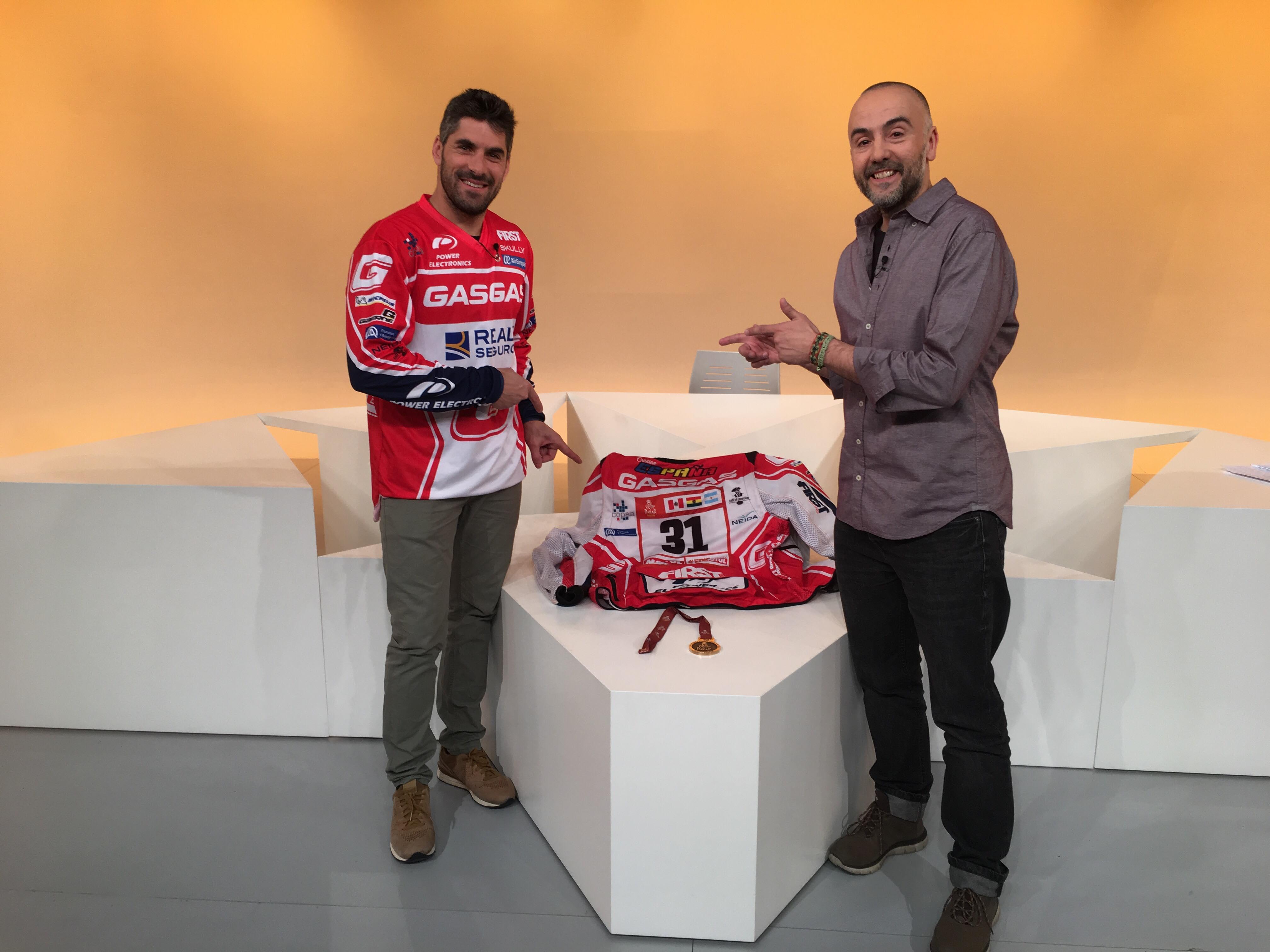 Dia E 2a part - L'experiència de Cristian España al Dakar 2018