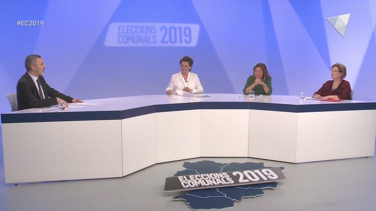Debat a ATV de la parròquia d'Andorra la Vella