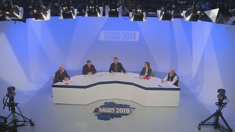 Debat a ATV de la parròquia d'Escaldes-Engordany