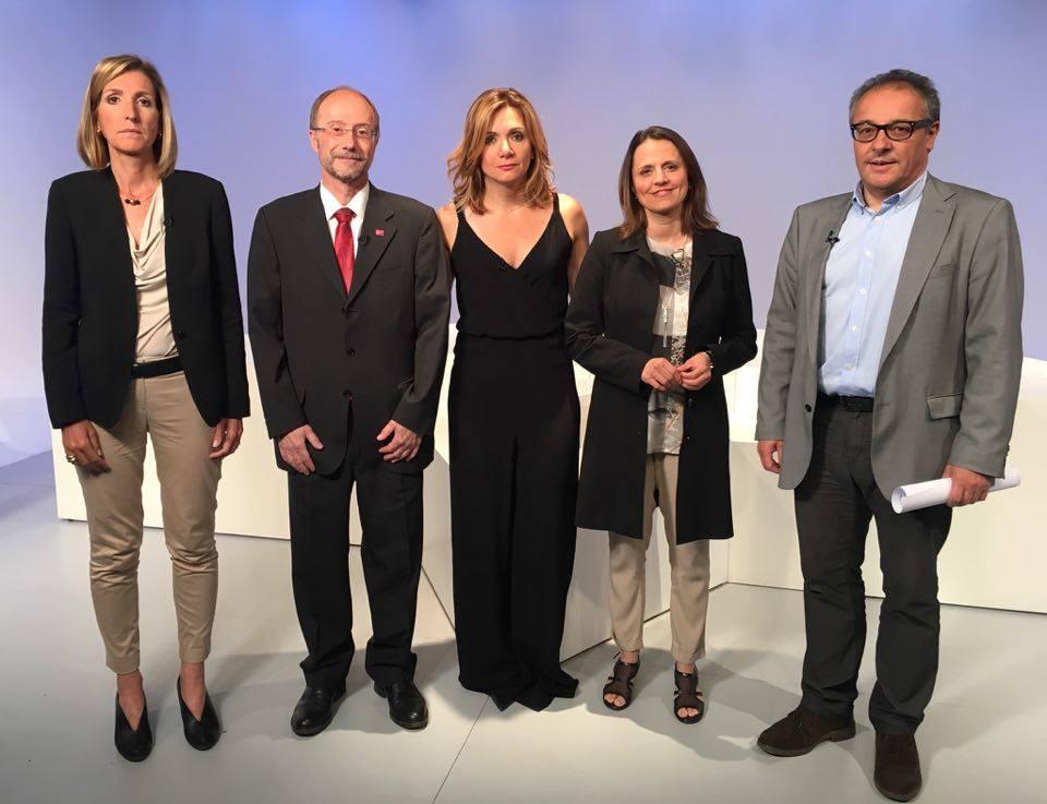 Debat d'actualitat amb Patrícia Riberaygua, Víctor Naudi, Rosa Gili i Joan Carles Camp