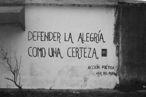 Serrat canta a Benedetti a La Contra