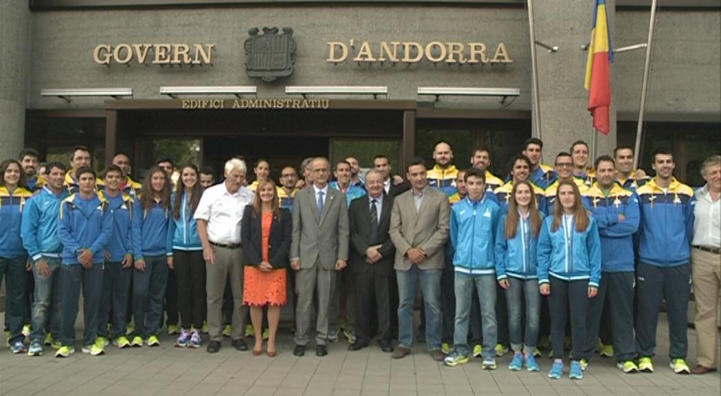 Marcos Sanza serà el banderer d'Andorra als Jocs d'Islàndia