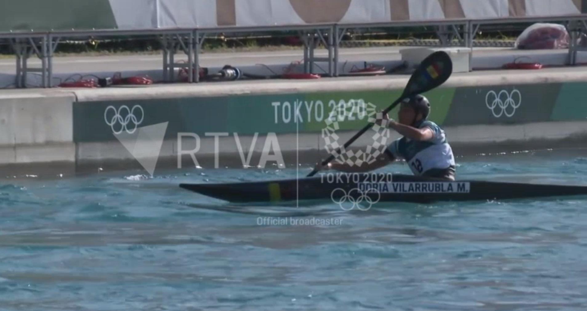 Doria es veu preparada per encarar la final en caiac als Jocs Olímpics de Tòquio