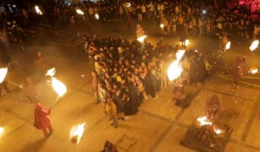 El camí del foc. La cremada de falles d'Andorra la Vella