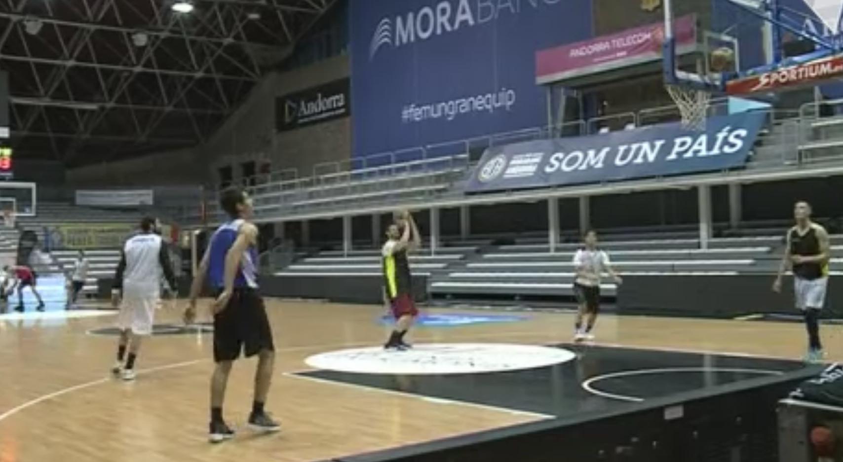 El combinat de bàsquet ja entrena per a San Marino