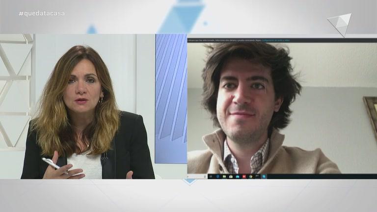 Entrevista al president del grup demòcrata, Carles Enseñat