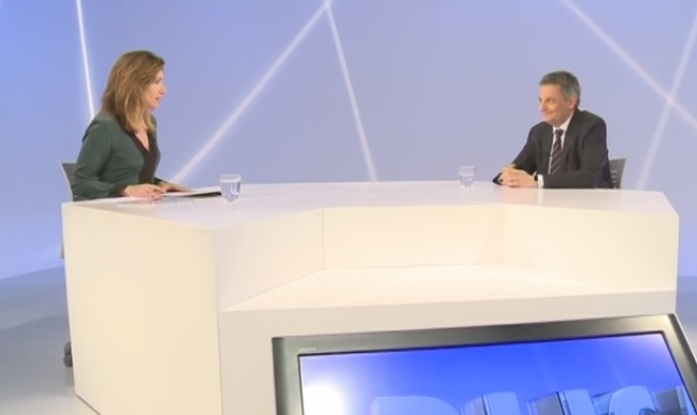 Entrevista al ministre Gilbert Saboya