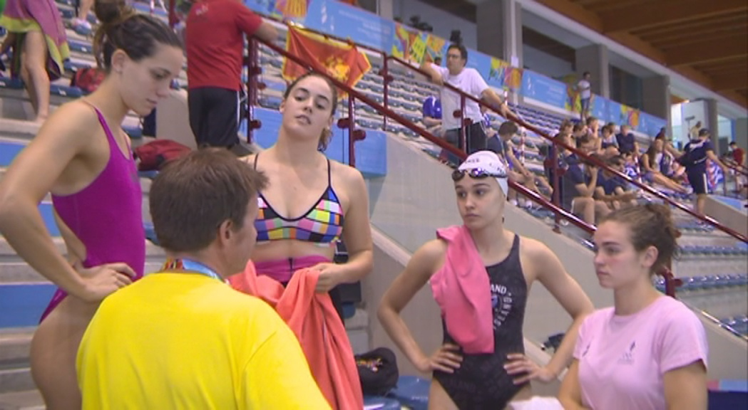 L'equip de natació vol fer història als Jocs