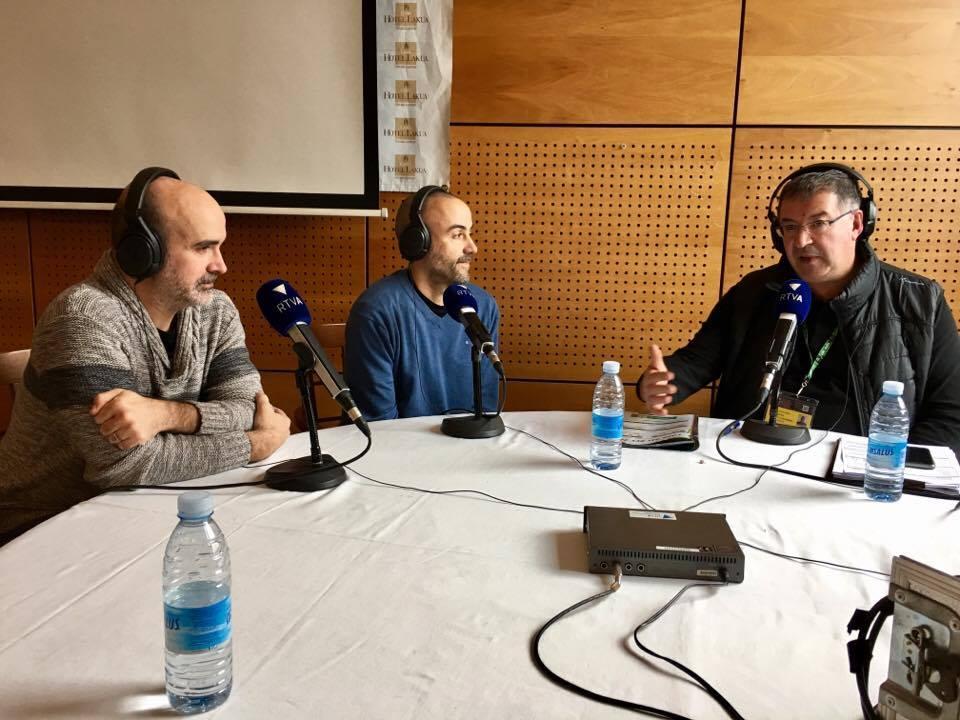 Tertúlia esportiva amb Joan López, David Domingo, Cesc Sanjuan i Jordi Lorente