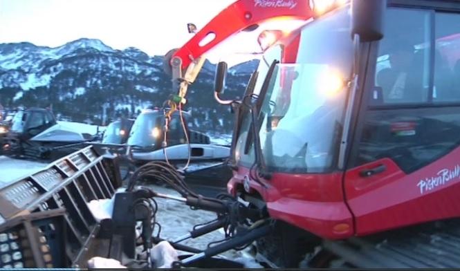 Espai Neu - La feina de maquinistes i retracks, l'equip d'esquí de muntanya de l'ECOA, Xavier Salvadores i la gastronomia a les pistes