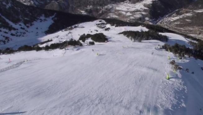 Espai Neu - El Freeride World Tour a Arcalís i l'estat de la pista Àliga abans de la Copa del Món