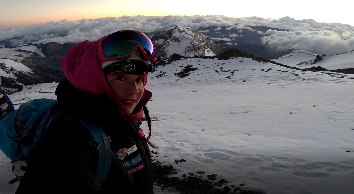 Espai Neu - Estefania Troguet, present i futur de l'alpinisme
