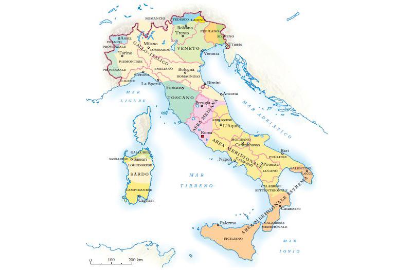 Columna Farinelli: la complexitat lingüística d'Itàlia