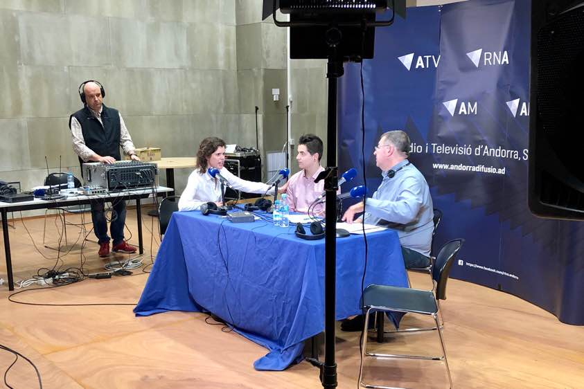 Entrevista Elisenda Bou i Miquel Pardo