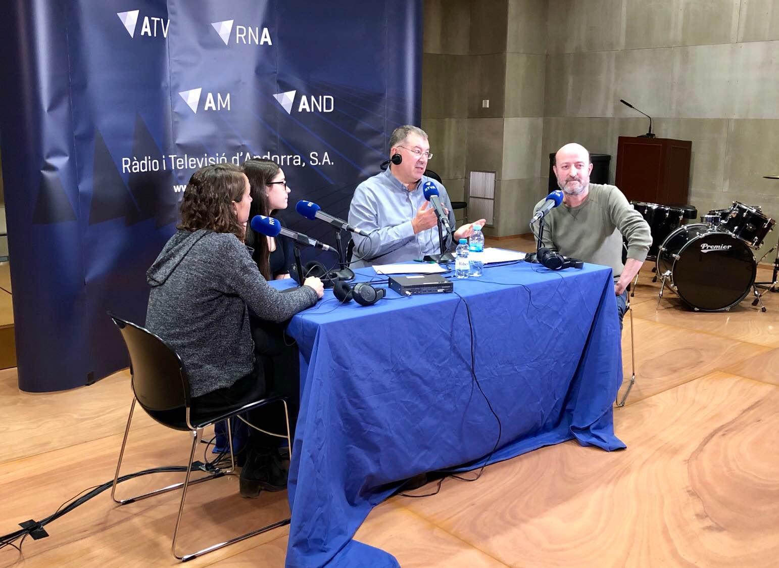 Entrevista Miquel Arnal, Anna Aixàs i Erica Balagueró