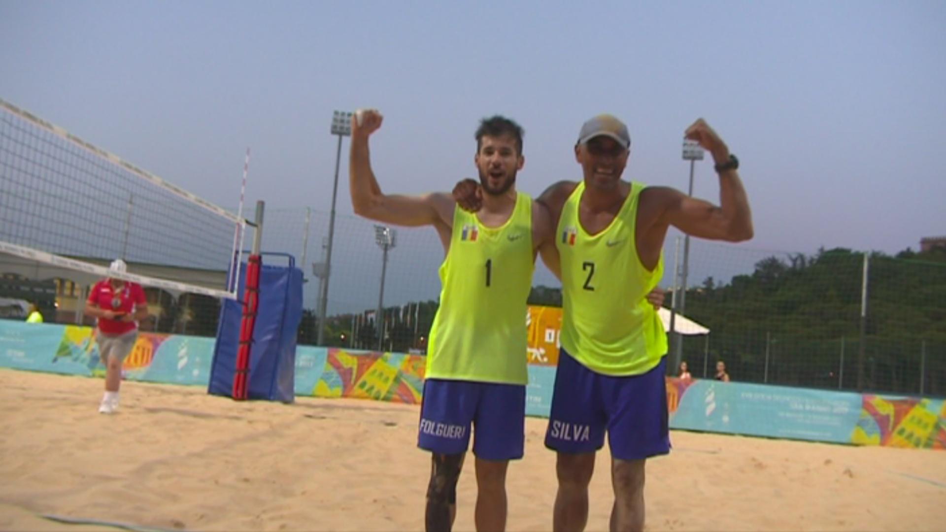 Folguera i Da Silva aconsegueixen el primer or andorrà a San Marino 2017