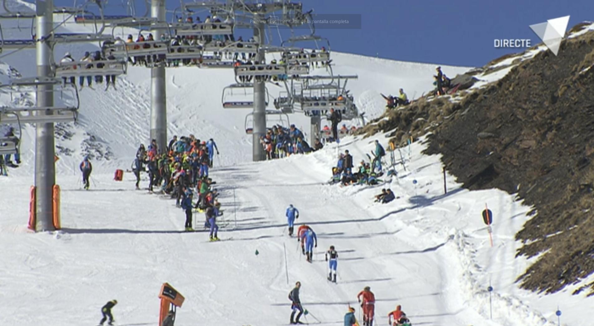 Programa especial curses verticals de la Copa del Món d'esquí de muntanya Font Blanca 2018 - segona part