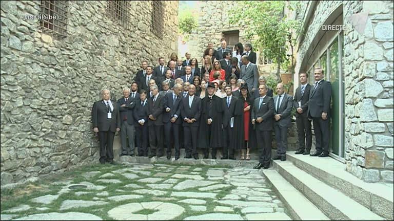La visita del president de Portugal pas a pas