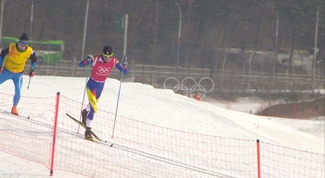 ÚItims preparatius per al debut d'Irineu Esteve en uns Jocs Olímpics.