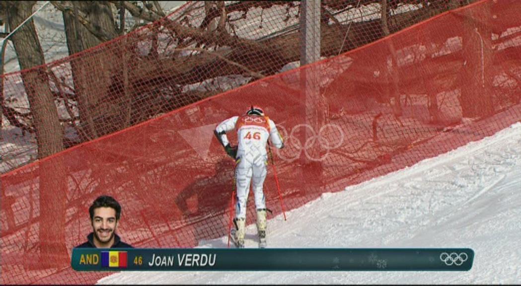 Verdú s'acomiada dels Jocs sense poder completar el gegant