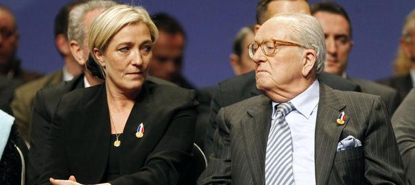 la bugada pública de la família Le Pen
