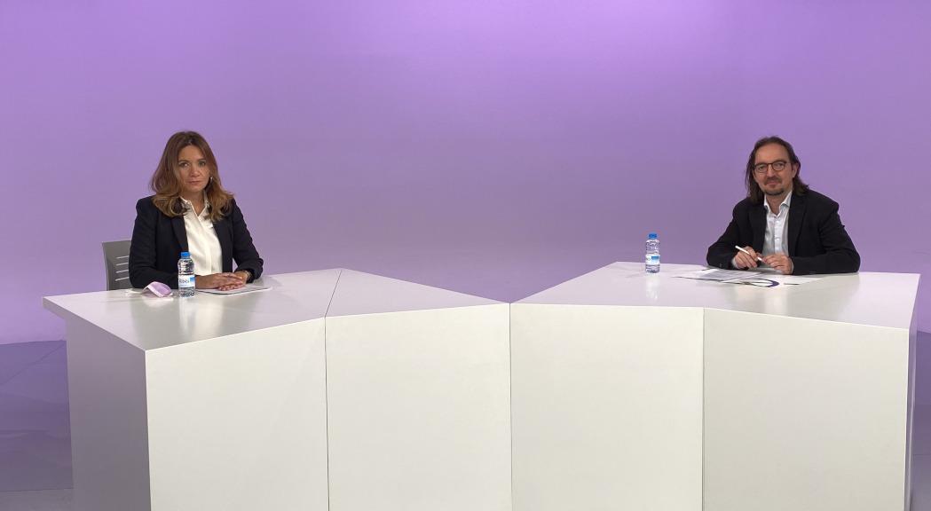 Entrevista al secretari d'Estat d'Afers Europeus, Landry Riba
